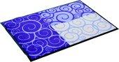 Коврик придверный 53x80см для помещения фиолетовый, полиамид Golze CONCEPT DESIGN 1670-42-22