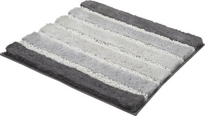 Коврик для ванной Kleine Wolke Phoenix Silbergrau, 60x60см, хлопок, вискоза, серый 4045146135