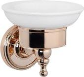 Мыльница настенная керамическая, светлое золото TW Bristol TWBR106gold