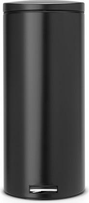 Мусорный бак 30л с педалью, MotionControl, чёрный матовый Brabantia 478826