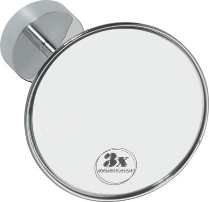 Зеркало косметическое Bemeta, настенное, d14см, хром 112101121
