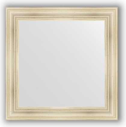 Зеркало в багетной раме 82x82см травленое серебро 99мм Evoform BY 3252