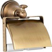 Держатель для туалетной бумаги TW Harmony, с крышкой, бронза TWHA219br