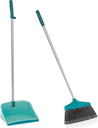Набор для подметания: щётка и совок с ручкой Leifheit Sweper Set 41404
