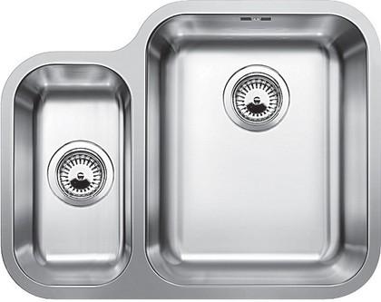Кухонная мойка основная чаша справа, без крыла, нержавеющая сталь полированная Blanco YPSILON 550-U 518209