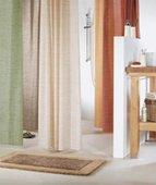 Штора для ванны 180x200см текстильная синяя Spirella MERENGUE 1009298