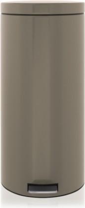 Мусорный бак 30л с педалью, MotionControl, серо-коричневый Brabantia 425103