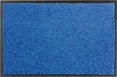Коврик придверный Golze Proper Tex Uni, 60x90, голубой 618-55-22