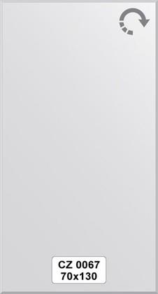 Зеркало для ванной 70x130см с фацетом 10мм FBS CZ 0067