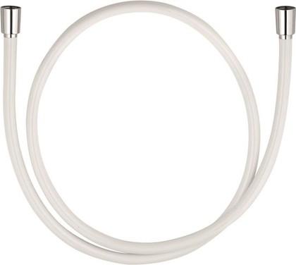 Душевой шланг пластиковый 1600мм, белый Kludi SUPARAFLEX SILVER 6107291-00