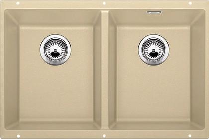 Кухонная мойка без крыла, с клапаном-автоматом, гранит, шампань Blanco Subline 350/350-U 516289