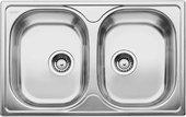 Кухонная мойка Blanco Tipo 8 Compact, без крыла, матовая сталь 513459