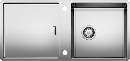 Кухонная мойка оборачиваемая с крылом, нержавеющая сталь зеркальной полировки Blanco JARON XL 6 S-IF 520679