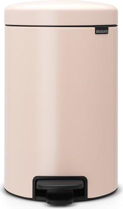 Мусорный бак с педалью 12л, чайная роза Brabantia Newicon 113543