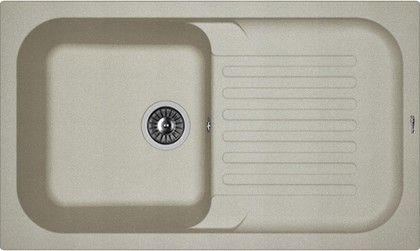 Кухонная мойка Florentina Арона, 860x510мм, серый 20.225.D0860.305