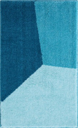 Коврик для ванной 60x100см синий Grund SHI 3625.16.175