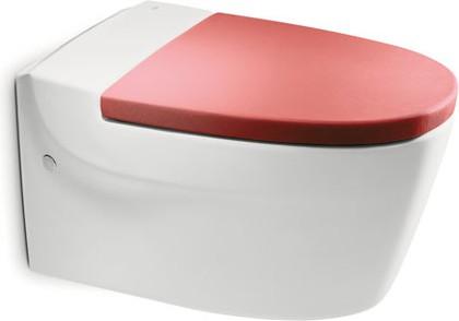Керамический подвесной унитаз с горизонтальным выпуском, белый Roca KHROMA 346657000