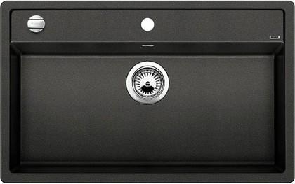 Кухонная мойка без крыла, с клапаном-автоматом, гранит, антрацит Blanco Dalago 8 516629