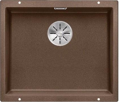 Кухонная мойка Blanco Subline 500-U, без крыла, отводная арматура, гранит, мускат 523440