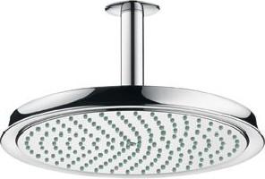 Верхний душ 300мм с потолочным держателем, хром Hansgrohe Raindance Classic AIR 27406000