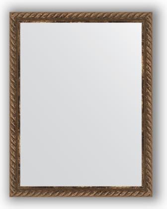 Зеркало 34x44см в багетной раме витая бронза Evoform BY 1339