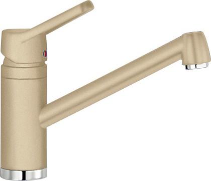Смеситель кухонный однорычажный с длинным рычагом управления, SILGRANIT шампань Blanco ACTIS 513985
