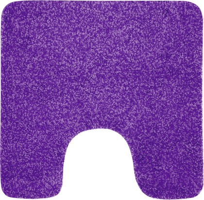 Коврик для туалета 55x55см фиолетовый Spirella Gobi 1014229
