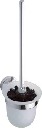 Туалетный ёрш настенный в стеклянной подставке 360мм Bemeta Omega 104113017