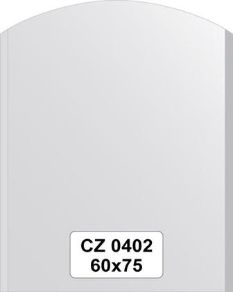 Зеркало для ванной 60x75см с фацетом 10мм FBS CZ 0402