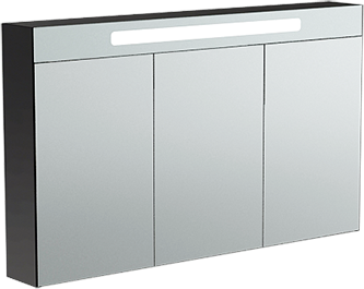 Verona SUSAN Шкаф зеркальный подвесной с подсветкой, ширина 125см, 3 дверцы, артикул SU609