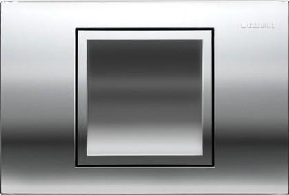 Кнопка одинарного смыва для инсталляции, хром глянцевый Geberit Delta40 115.130.21.1