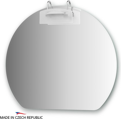 Зеркало со светильником 80х70см, Ellux MOD-E1 0024