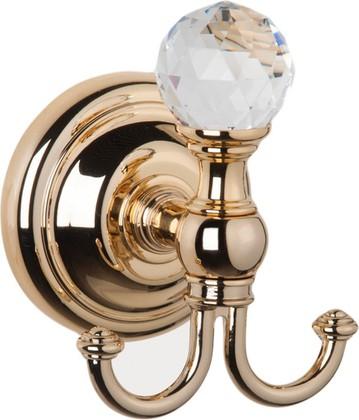 Крючок, золото с кристаллом swarovski TW Crystal TWCR016oro-sw