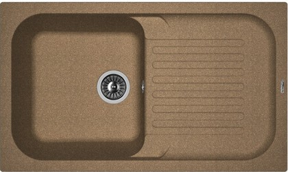 Кухонная мойка Florentina Арона, 860x510мм, коричневый 20.225.D0860.105