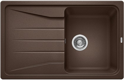Кухонная мойка оборачиваемая с крылом, гранит, кофе Blanco Sona 45 S 519670