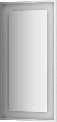 Зеркало 60х120 в багетной раме со встроенным LED-светильником Evoform BY 2214