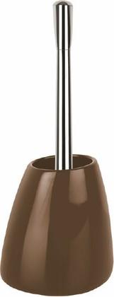 Ёршик для туалета с коричневой подставкой Spirella Etna Shiny 1016119