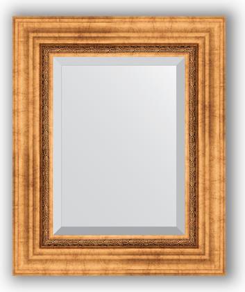 Зеркало с фацетом в багетной раме 46x56см римское золото 88мм Evoform BY 3360