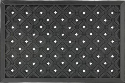 Коврик придверный 45х75см черные круги, резина Golze Dynamic 327-30-02