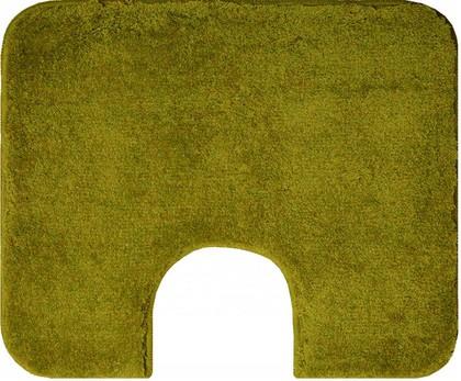Коврик с вырезом под туалет 60x50см оливковый Grund Comfort 2399.06.4226