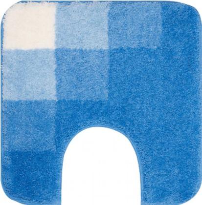 Коврик с вырезом под туалет 50x50см синий Grund Udine 633.02.076