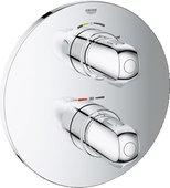 Термостат для ванны встраиваемый без подключения шланга и без встраиваемого механизма, хром Grohe GROHTHERM 1000 New 19986000
