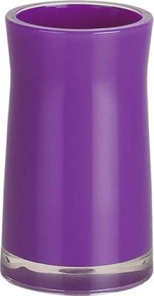 Стакан для зубных щёток Spirella Sydney Acrylic, фиолетовый 1011334
