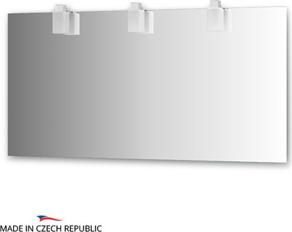 Зеркало со светильниками 150x75см Ellux RUB-A3 0218