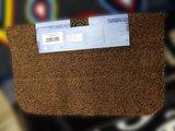 Коврик придверный 60x75см коричневый Golze Astra Saugaktiv 601-35-66