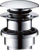 Донный клапан для раковины Hansgrohe Push-open 50100000