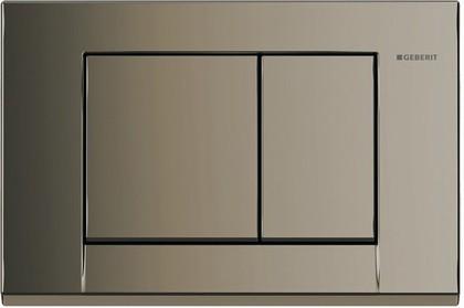Кнопка пластиковая двойного смыва для инсталляции, латунь Geberit BOLERO 115.777.DT.1