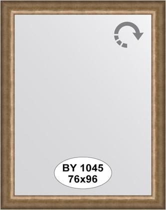 Зеркало 76x96см в багетной раме старая бронза Evoform BY 1045