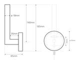 Держатель туалетной бумаги без крышки, матовый хром Bemeta Neo 104112035