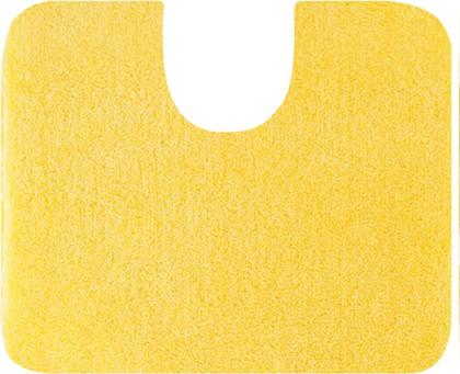 Коврик с вырезом под туалет 60x50см жёлтый Grund Lex 2622.06.4087